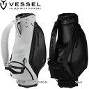 ♪【20年継続モデル】ベゼル メンズ プロディジー スタッフバッグ キャディバッグ (Men's) VESSEL Prodigy Staff Bag