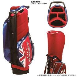 【17年モデル】【数量限定】ブリヂストンゴルフスタンドキャディバッグ全英オープン使用モデルCBG771(Men