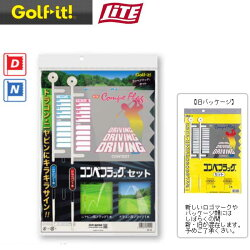 ライトコンペフラッグ2本入りG-12(ドラコン、ニヤピン各1枚)LITEGolfit!ゴルフイット!