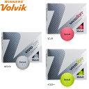 【プリントネーム】【18年モデル】 ボルビック ビビッド ソフト ボール 1ダース(12球入り) Volvik VIVID SOFT BALL