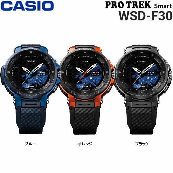 測定器・スポーツテスト用品, アクティブトラッカー 24120 P27 19 WSD-F30 GPS PRO TREK Smart CASIO