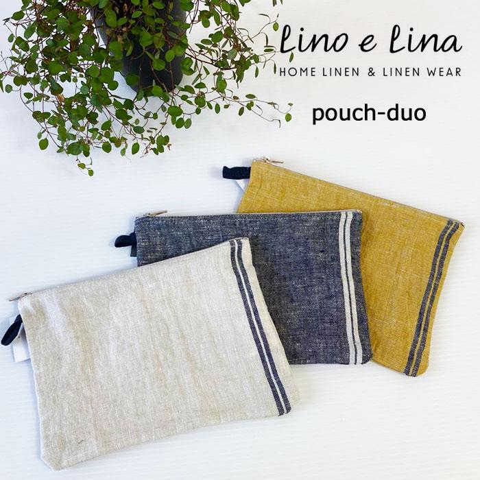 レディースバッグ, 化粧ポーチ Lino e Lina 100 (Pouch Duo)