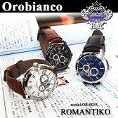 【10%OFFクーポン発行中】オロビアンコ 時計 OROBIANCO オロビアンコ TIMEORA タイムオラ ROMANTIKO ロマンティコ メンズ 腕時計 自動巻き