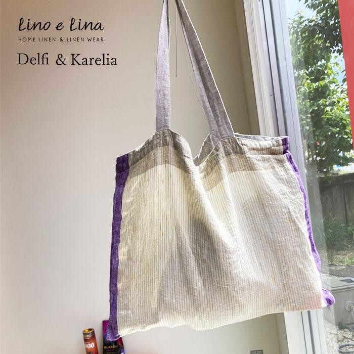 レディースバッグ, トートバッグ  100 Lino e Lina Bag R2 Delfi Karelia