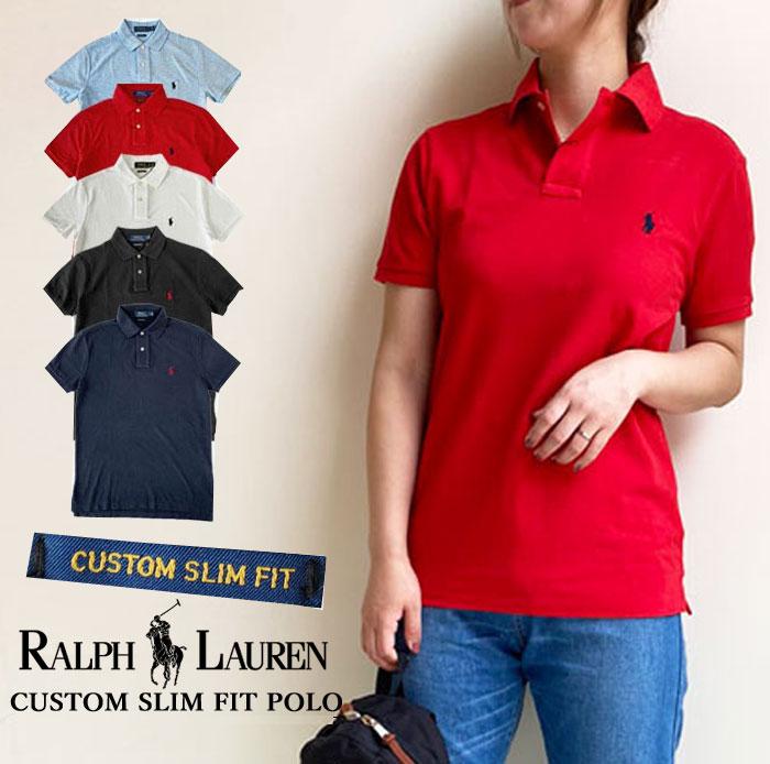 トップス, ポロシャツ  POLO RALPH LAUREN CUSTOM SLIM FIT( ) 710782592710666998