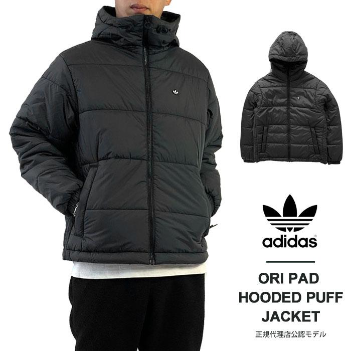 メンズファッション, コート・ジャケット 10OFF! adidas PAD HOODED PUFF JACKET (JJW73 H13555) 2021AW