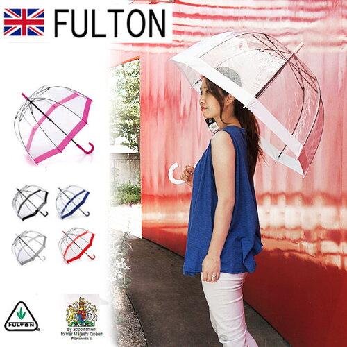 FULTON フルトン 傘 かさ バードケージ BIRD CAGE 長傘 英国王室ご用達 アンブレラ 女性用 おしゃ...