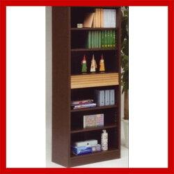 フィード60本箱(書棚・本棚・ブックケース・ブックシェルフ)【donkoiラック等】【シンプル】