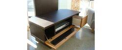 フィード100幅コーナーテレビボード
