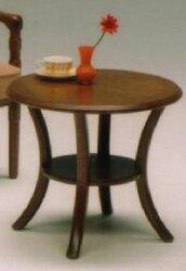 サリブセンターテーブル(ローテーブル・リビングテーブル)丸型
