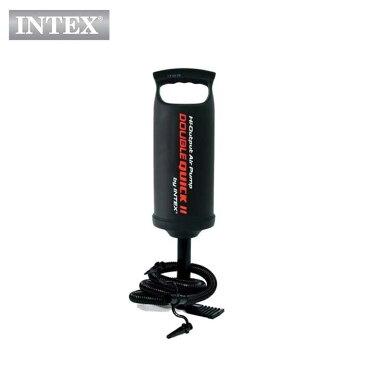 INTEX(インテックス)空気入れハンドポンプHP614【長さ 36cm】Double Quick Hand Pump 68614 ダブルクイックハンドポンプ ダブルアクション 正規品