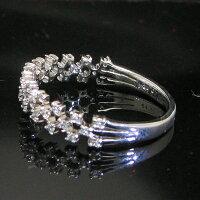 透かしダイヤモンドリング指輪K18WG18金ホワイトゴールド送料無料プレゼントギフト対応サイズ限定商品