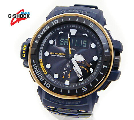 腕時計, メンズ腕時計 CASIO G-SHOCK GWN-Q1000NV-2AJF GULFMASTER Master in NAVY BLUE