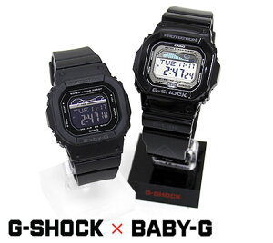 CASIO G-SHOCK Baby-G GLX-5600-1JF BLX-560-1JF カシオ G-LIDE Gライド ペアウォッチ メンズ レディース 腕時計 デジタル ブラック 【送料無料】