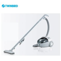 サイクロン式家庭用クリーナー YC-E019SBK 【条件付送料無料】 ツインバード(TWINBIRD) 掃除機