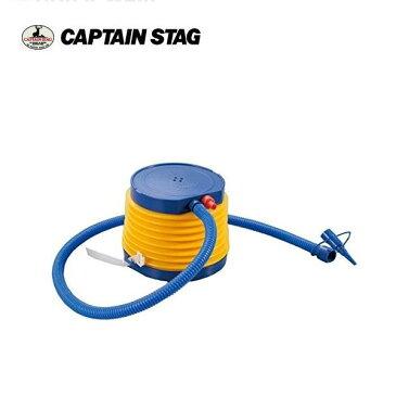 フットポンプ ドラム ビッグホースL UX-904 キャプテンスタッグ(CAPTAINSTAG) 浮き輪やビニールプール・ゴムボートの空気入れに。