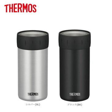 保冷缶ホルダー JCB-500-SL/JCB-500-BK THERMOS サーモス 500ml缶用/大人も子供もおしゃれなコップ/マグカップ/タンブラー/マグボトル/マイボトル・マイ水筒/結露しにくい割れないステンレス製魔法瓶・魔法びん真空断熱構造