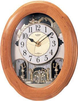 スモールワールドソルシアF 4MN422RB06 【条件付送料無料】 電波掛け時計/おしゃれな壁掛け電波時計/電波掛時計/電波からくり時計/電波アミュージング時計/時報メロディー・かわいい回転飾り/リズム時計工業(RHYTHM・シチズン系列):生活雑貨 Jショッピング