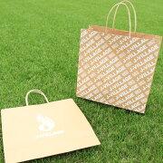 Jヴィレッジオリジナル紙袋(1枚)ギフトラッピングプレゼント手提げ手提げ袋包装梱包茶色