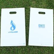 【送料無料】Jヴィレッジオリジナルナイロン袋(1枚)ギフトラッピングプレゼント手提げ手提げ袋包装梱包