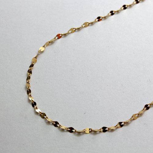 ◇特別価格◇ 純金 ネックレス (K24)(ペダルチェーン)