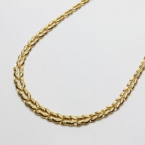 ◇期間限定◇ 純金 ネックレス (K24)(リバーシブル仕様、K24刻印入)