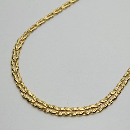 ◇期間限定◇ 純金 ネックレス (K24)(リバーシブル仕様、ゆったり45cm)