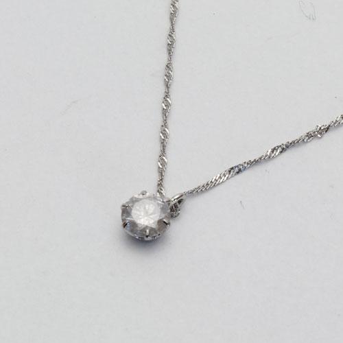 ★送料無料★プラチナ ダイヤモンド ペンダント(Pt900・ダイヤ0.23ct)