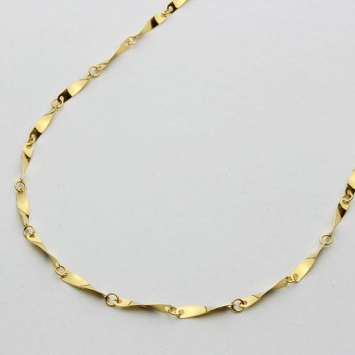 純金 ネックレス(K24)ひねり