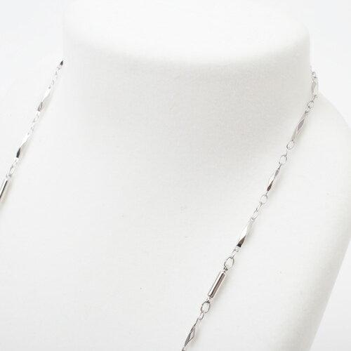 【DEAL】話題のマグネヒール(Magne Heal) 磁気 ネックレス高貴なロジウム仕上げデラックス切子癒し/肩こり/血行/頭痛/医療