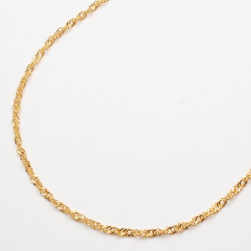 ◇期間限定◇純金 ネックレス (K24)ゆったり42cm(スクリュー)