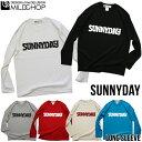 SUNNYDAY / オリジナルロングTシャツ/ロック/オリジナル/デザイン/ロゴ/メッセージ/ネット限定長袖Tシャツ【cloth】MILDCHOP