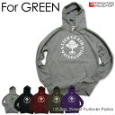 FOR GREEN//プルオーバーパーカ/ネット限定オリジナルパーカ【cloth】MILDCHOP
