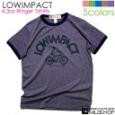 LOWIMPACT/オリジナル半袖リンガーTシャツ/ネット限定Tシャツ【cloth】MILDCHOP by JACA JACA