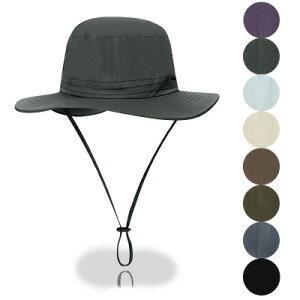 帽子 UVカット つば広ハット メンズ サンバイザー 紫外線対策用 折畳み可 調節可能 農作業 取外し可 通気性 釣り アウトドア 日よけ 登山 カジュアル 春夏 新作 送料無料