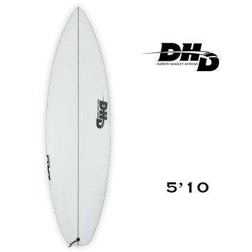 【80930】DHD|ダレン ハンドレー デザイン DX1 PHASE3 ショートボード FCS2 TRI 【21SS】 クリア 5'10x18'3/4x2'1/4【26L】