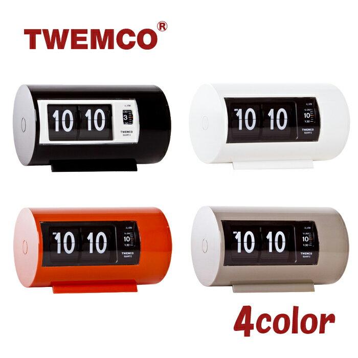 TWEMCO トゥエンコ インテリアクロック パタパタ時計 全4色 アラームクロック 置き時計 AP-28
