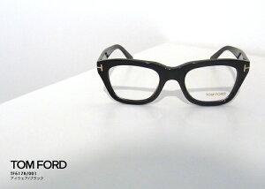 TOMFORDトムフォードTF5178アイウェア001ブラック