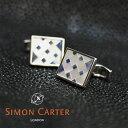 SIMON CARTER サイモンカーター カフス カフリン...