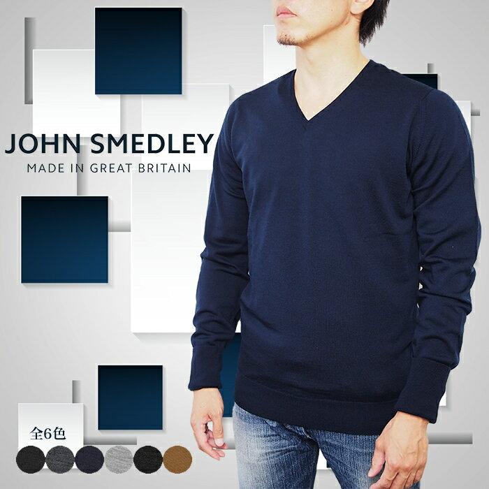 トップス, ニット・セーター JOHN SMEDLEY BOBBY V 6