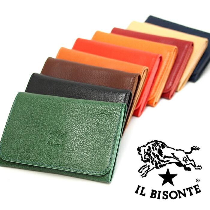 財布・ケース, 名刺入れ IL BISONTE SCC004 9 C0470P