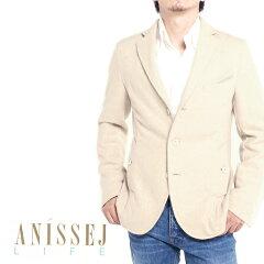 ANISSEJ LIFE アニセイ ライフ メンズテーラードジャケット F130111 3/ベージュ 3Bジャケット
