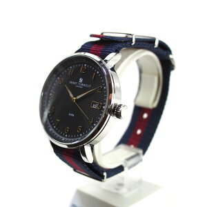 SMARTTURNOUTスマートターンアウトSTH3BK-HDメンズウォッチ腕時計時計ブラッククオーツナイロンベルト