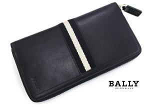 BALLYバリーTASYOラウンドファスナー長財布290/ブラック
