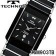 TECHNOS SWISS 腕時計 メンズ サファイアガラス セラミック テクノス TSM903TB