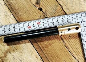 【送料無料】真鍮削り出しハンドル極太13mmファイアスチール(ファイアスターター/メタルマッチ)