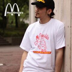 メール便OK SALE対象商品 64% OFF【McDonald's/マクドナルド】クラシック Tシャツ/COOKSALE商品
