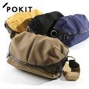 pokit/ポキット CAPSULE ショルダーバッグ Sサイズ 16FW-03/CL-3[メンズ メンズバッグ バッグ バック かばん カバン 鞄 ショルダーバッグ ショルダー 肩掛け おしゃれ か
