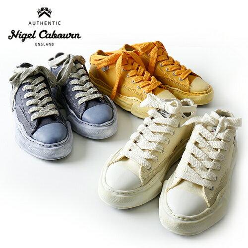 メンズ靴, スニーカー nigel cabourn LOW CUT OVER DYED SNEAKER 804139-62000 MIHARA YASUHIRO