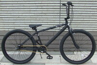 【街乗りアーバンBMXクルーザー!】【シマノ社内装3段変速!】【ゆったり座れるロングボディー】【グロスブラック】♠fivecard-bikeファイブカードBMXTRUMPトランプBMX26インチ